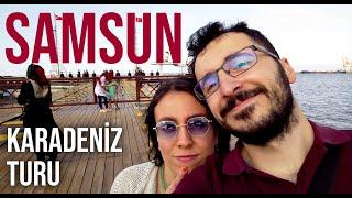 Karadeniz Turu 1 | SAMSUN - EN BÜYÜK TÜRK BAYRAĞI, İLK ADIM MEYDANI | Gezi Günlükleri 4