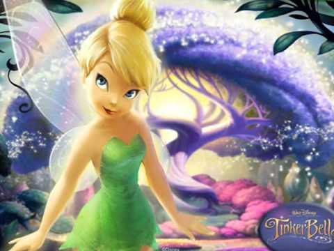 Tinkerbell, la linda hada mágica de Disney