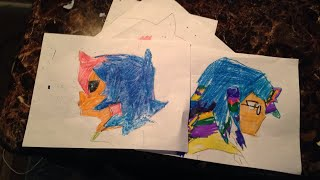 Sonic.exe x rainbow wolf becky thumbnail