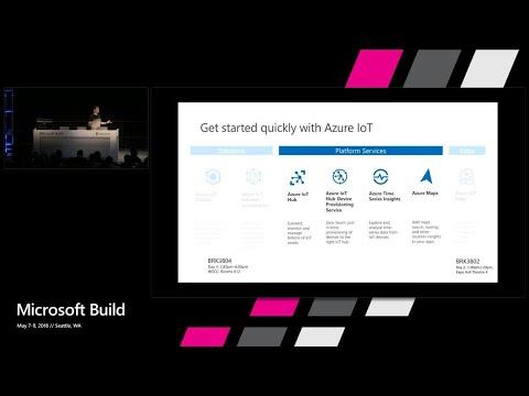 Azure IoT Platform services - The modern IoT developer toolbox