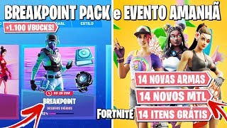FORTNITE-NEW BREAKPOINT PACK, 14 DAYS OF SUMMER and NEW REVOLVER!