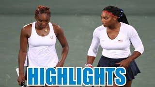 Williams/Williams vs Safarova/Strycova Highlights - Olympics Rio 2016 (Full HD)