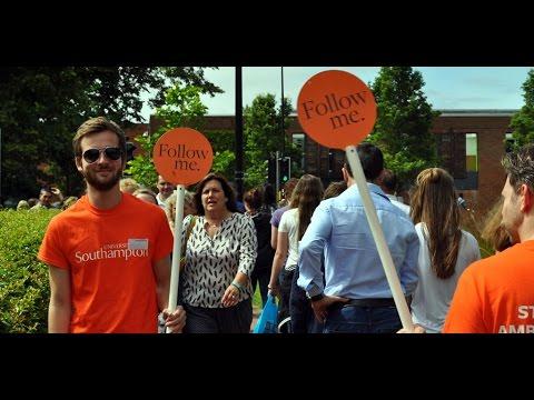 Open Days   University of Southampton