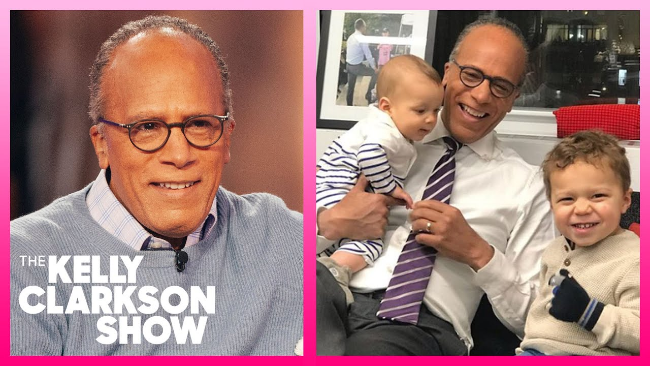 Lester Holt's Grandson Calls Him 'Grand-Dude'