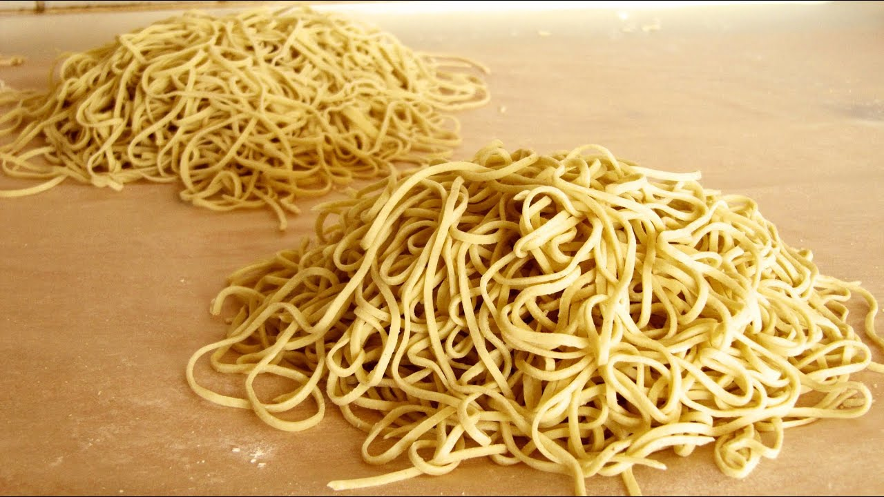 How To Make Ramen Noodles From Scratch Alkaline Noodles -9965
