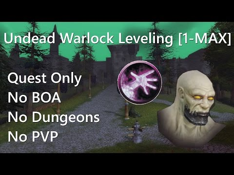 Undead Warlock Leveling 1 to Max - Part 15 - First Group Effort :)