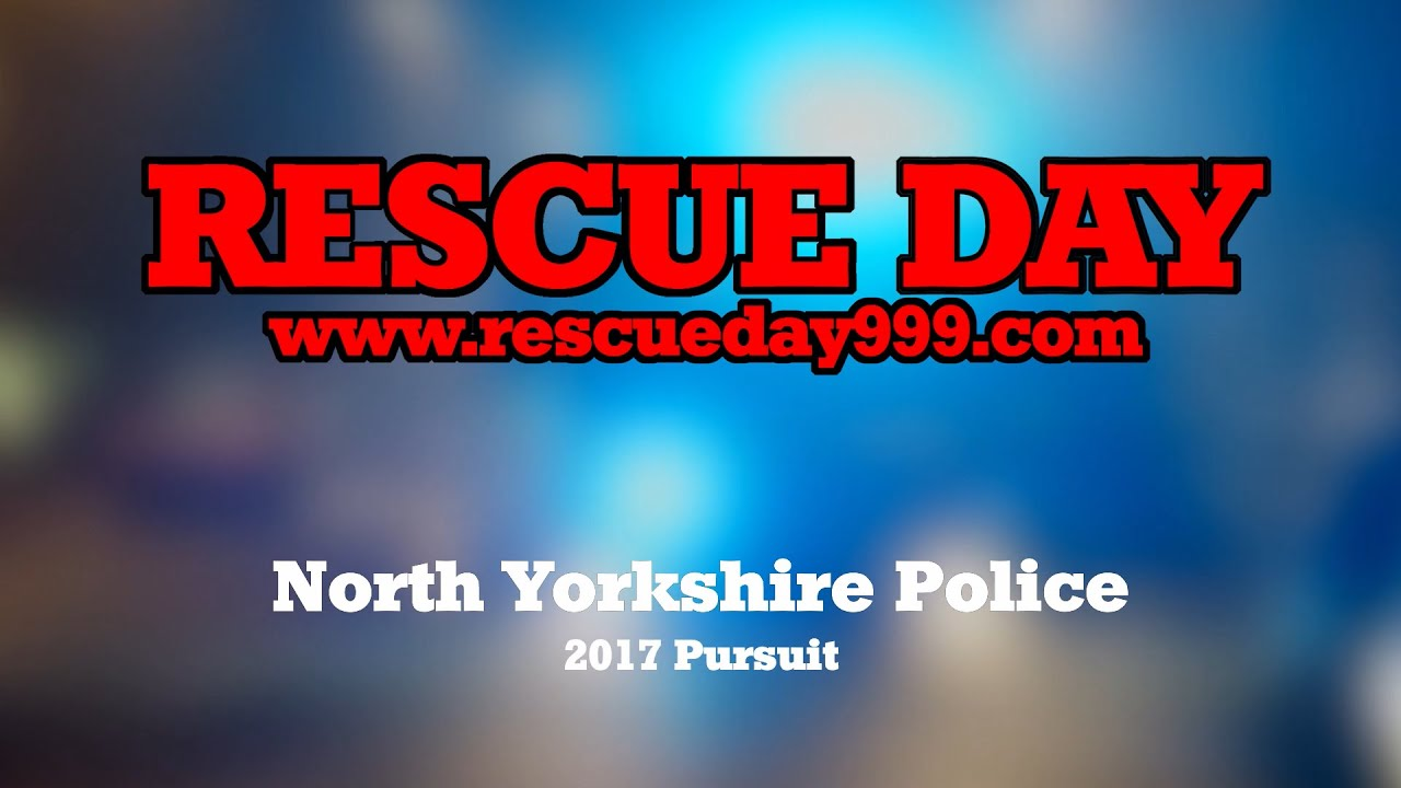 North Yorkshire Police Pursuit