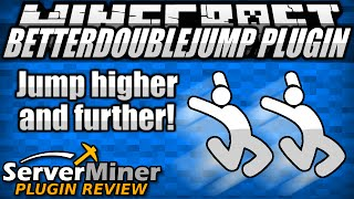 How to Double Jump in Minecraft with BetterDoubleJump Plugin