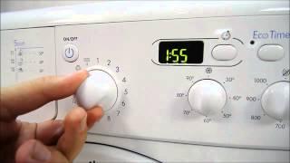 видео стиральные машины indesit