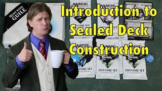 Mtg - Introduction To Sealed Deck Construction 101 - For Magic: The Gathering Prerelease And Launch