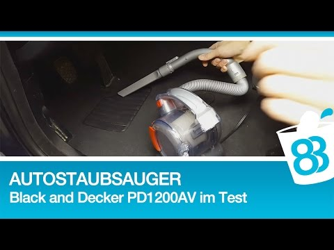 autostaubsauger black and decker pd1200av im test auto innenraum aufbereitung youtube. Black Bedroom Furniture Sets. Home Design Ideas
