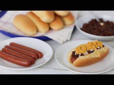 Cincinnati Chili Dog- Everyday Food with Sarah Carey