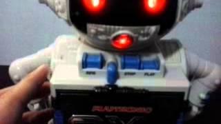 Brinquedo Antigo Boneco Robô 2-xl Mundo Ciência Playtronic