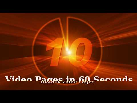 Video Pages in 60 seconds Minneapolis/BEST BONUS! Free video x-ray software!