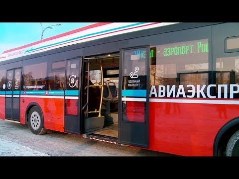 Электробус на линии