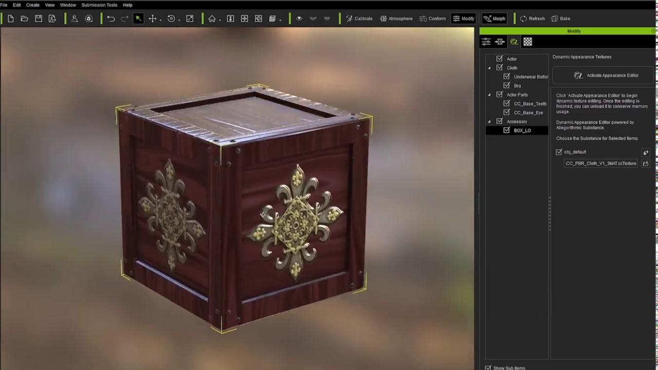 Character Creator 2 Tutorial - Wood Generator