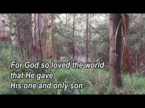 God So Loved The World - vocal