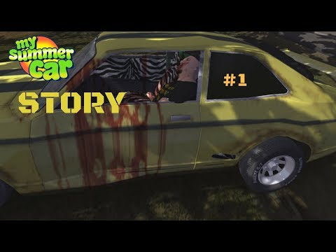 My Summer Car Story #1 – Dead drivers, delivery parts and shopping