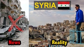 Syria Travel   What It is Like to be a Tourist inside Shocking Syria!