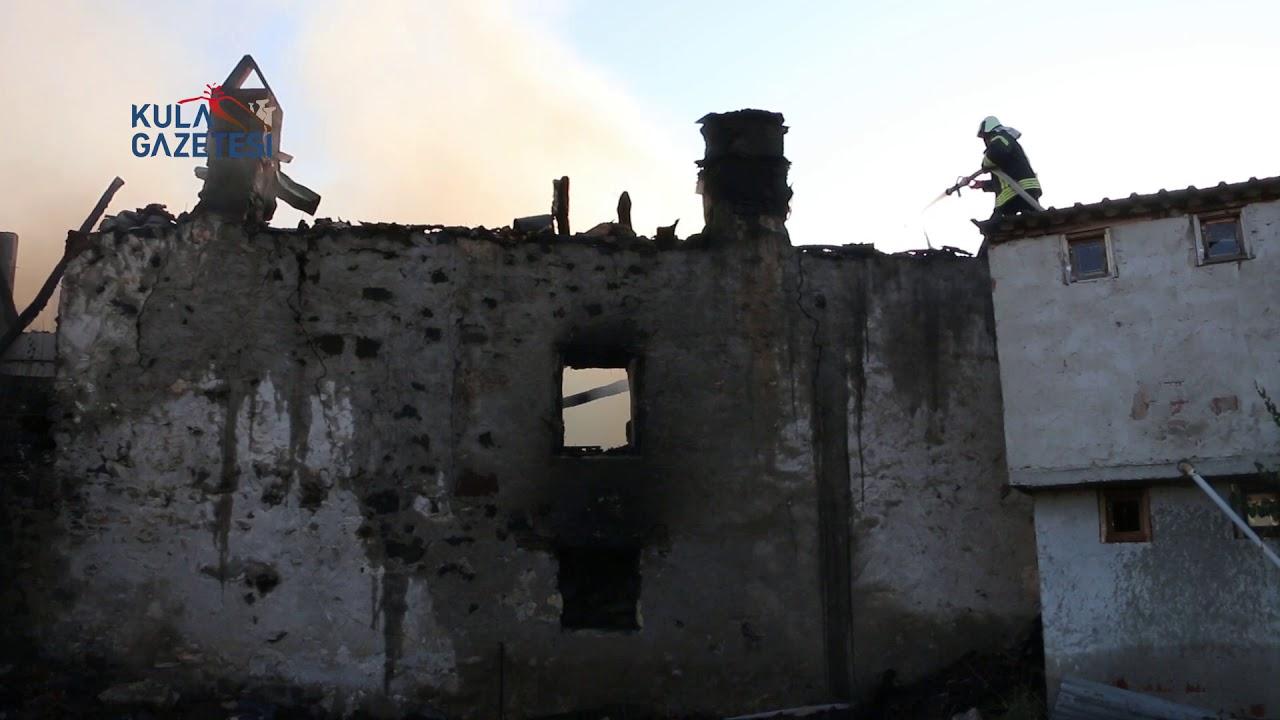 Ayvatlar'da ev yangını
