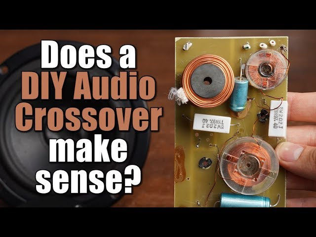Does a DIY Audio Crossover make sense? How passive filters work! || EB#41
