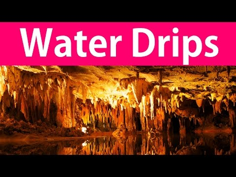 2 Hours of Cave Water Dripping - Nature Sounds, Water Sounds, Relaxing Sounds