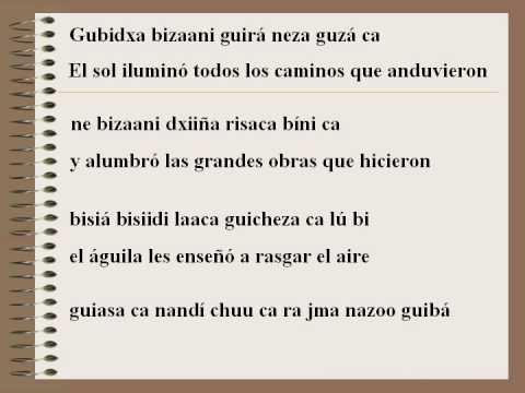 42 Poesia Zapoteca Enedino Jimenez Youtube