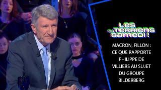Macron, Fillon : ce que rapporte Philippe De Villiers au sujet du groupe Bilderberg - LTS 9/03/19