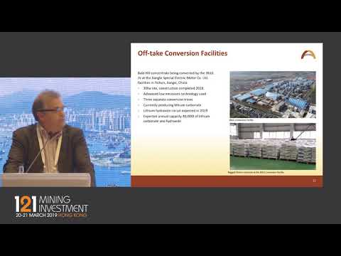 Presentation: Alliance Mineral Assets - 121 Mining Investment Hong Kong 2019 Spring