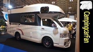 【セレンゲティ】 ハイエースワイドワゴンをベース車にしたキャブコン Japanese Campingcar Motorhome thumbnail