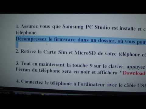 Flash Samsung S8300 Part 1