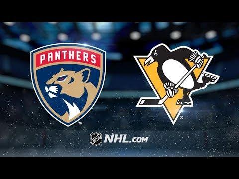 Florida Panthers Vs. Pittsburgh Penguins | NHL Game Recap | October 14, 2017 | HD