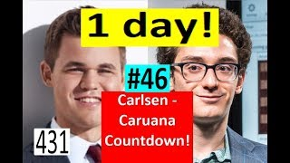 1 day to Carlsen-Caruana! ¦ Queen Sacrifice to end the Match!