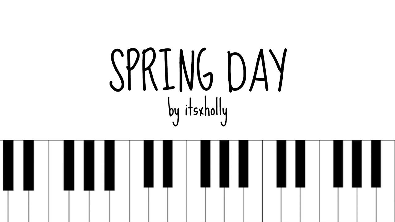 Spring day bts piano tutorial youtube hexwebz Images