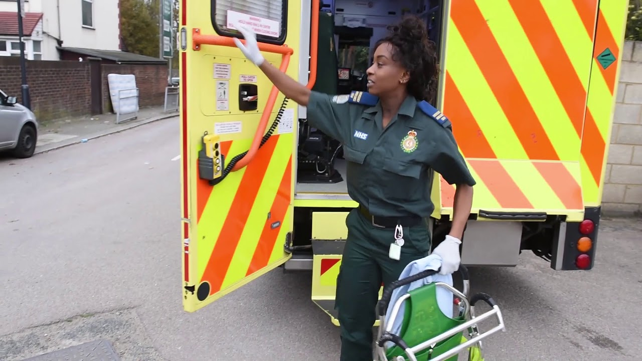 What it's like joining London Ambulance Service