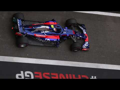 Pierre Gasly's radio after taking out Brendon Hartley - F1 2018 - Chinese GP