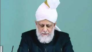 Friday Sermon: 26th November 2010 - Part 5 (Urdu)