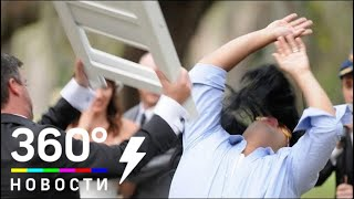 Массовая драка на свадьбе в Казахстане попала на видео - СМИ2