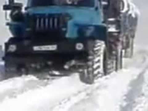 Зима 2013 ст.Паюта - п.Новый Порт, п/о ЯМАЛ