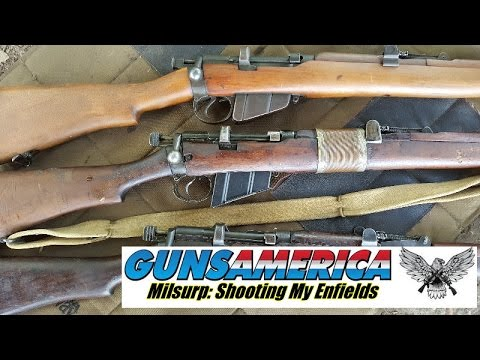 Milsurp: Shooting My.303 Enfield Rifles - Epic Fail on Midway Surplus Ammo