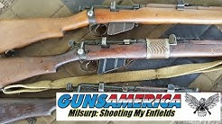 Milsurp: Shooting My .303 Enfield Rifles - Epic Fail on Midway Surplus Ammo
