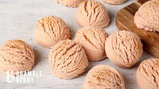 Anne-Marie Makes Pumpkin Bubbling Bath Truffles