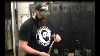How to Sharpen a Knife (With the Knife Sharpener Used by Pro Butchers) | The Bearded Butchers!
