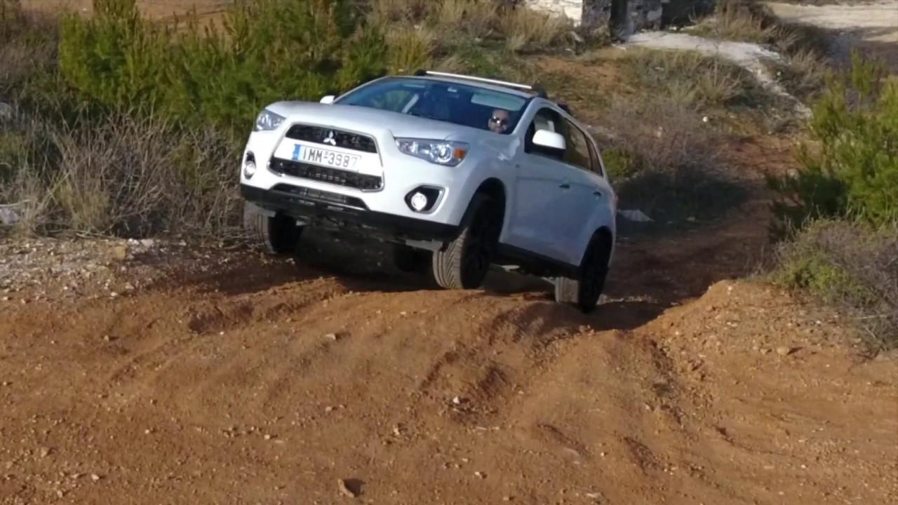 Mitsubishi asx off road