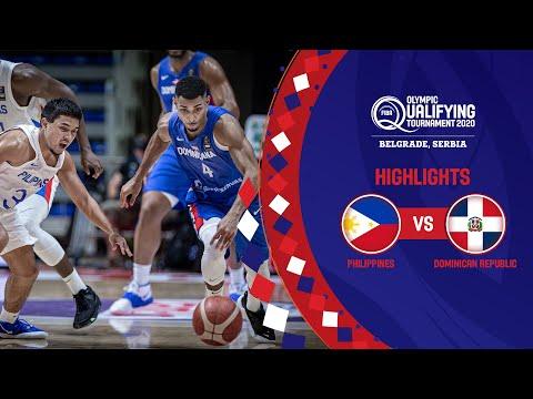 Philippines - Dominican Republic   Game Recap - FIBA Olympic Qualifying Tournament 2020
