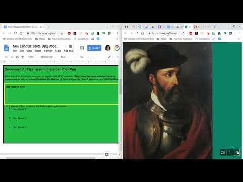 Conquistador DBQ How-to Analysis Sheet - Edited