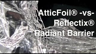 Reflectix® Radiant Barrier Vs. AtticFoil® Heavyweight Radiant Barrier Thumbnail
