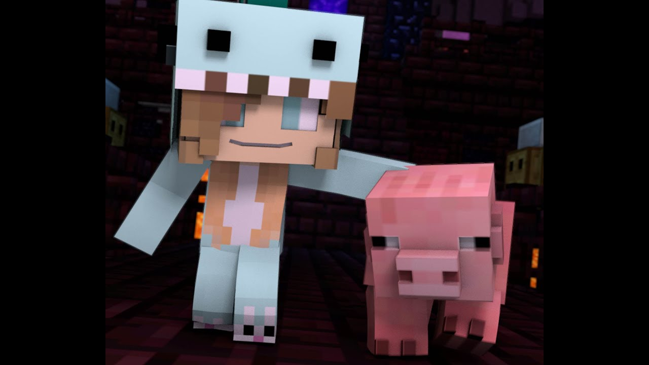 Cute Houses Minecraft Song And Minecraft Animation Quot Gimme Back My Pig