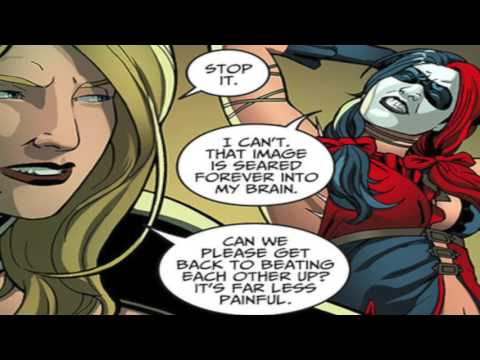 Black Canary and Harley Quinn Injustice Comic Voice Over