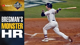 Astros' Alex Bregman launches MONSTER 2-run shot to tie up World Series Game 2 in 1st inning